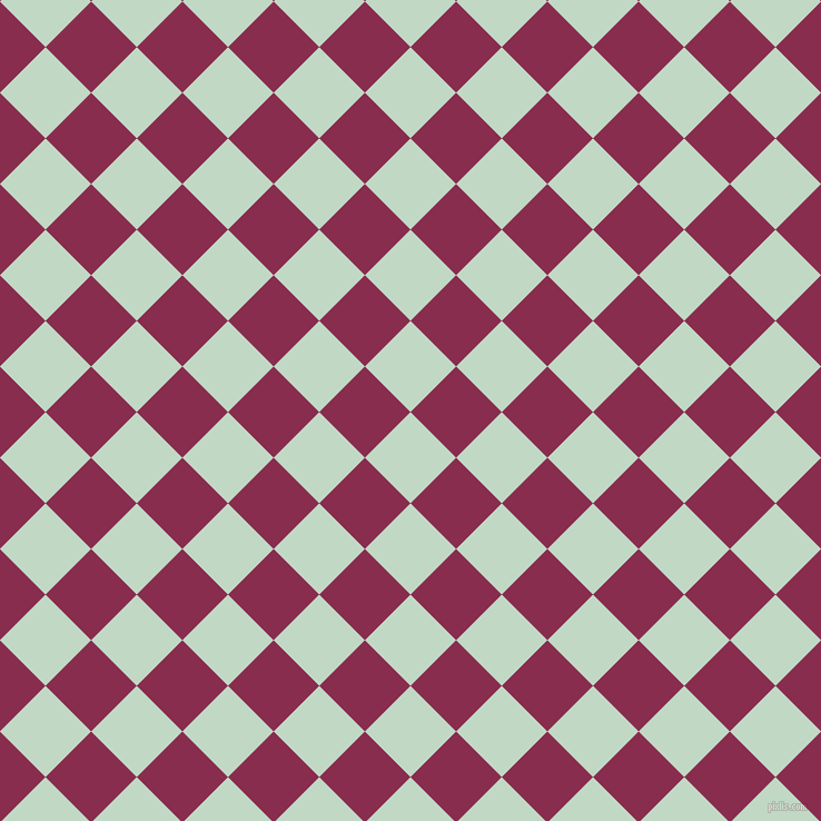 45/135 degree angle diagonal checkered chequered squares checker pattern checkers background, 58 pixel square size, , Edgewater and Disco checkers chequered checkered squares seamless tileable