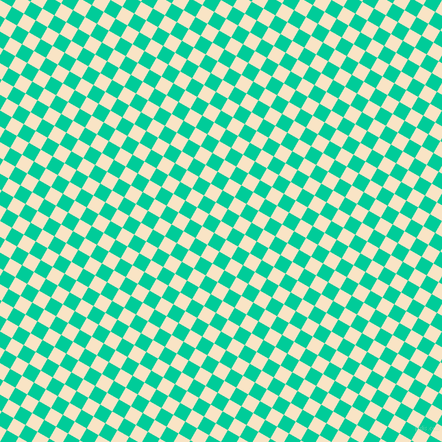60/150 degree angle diagonal checkered chequered squares checker pattern checkers background, 20 pixel squares size, , Egg Sour and Caribbean Green checkers chequered checkered squares seamless tileable