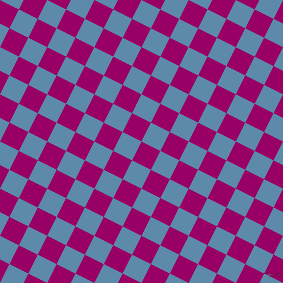 63/153 degree angle diagonal checkered chequered squares checker pattern checkers background, 43 pixel squares size, , Eggplant and Air Force Blue checkers chequered checkered squares seamless tileable