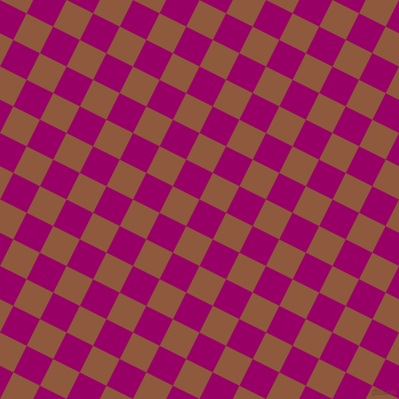 63/153 degree angle diagonal checkered chequered squares checker pattern checkers background, 43 pixel square size, Eggplant and Rope checkers chequered checkered squares seamless tileable