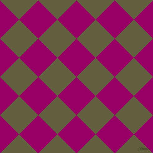 45/135 degree angle diagonal checkered chequered squares checker pattern checkers background, 87 pixel squares size, , Eggplant and Verdigris checkers chequered checkered squares seamless tileable