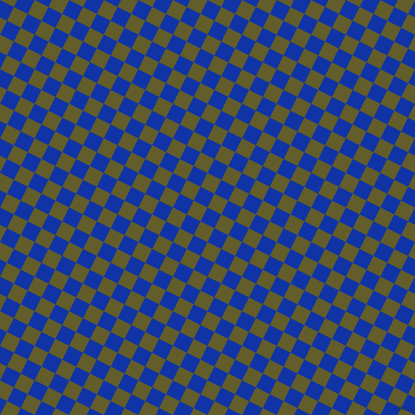 63/153 degree angle diagonal checkered chequered squares checker pattern checkers background, 31 pixel squares size, , Egyptian Blue and Costa Del Sol checkers chequered checkered squares seamless tileable
