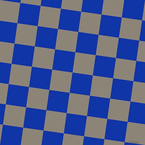 82/172 degree angle diagonal checkered chequered squares checker pattern checkers background, 69 pixel square size, , Egyptian Blue and Schooner checkers chequered checkered squares seamless tileable