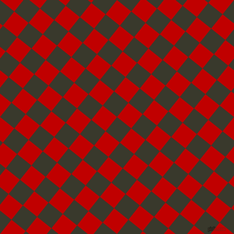 51/141 degree angle diagonal checkered chequered squares checker pattern checkers background, 37 pixel squares size, , El Paso and Free Speech Red checkers chequered checkered squares seamless tileable