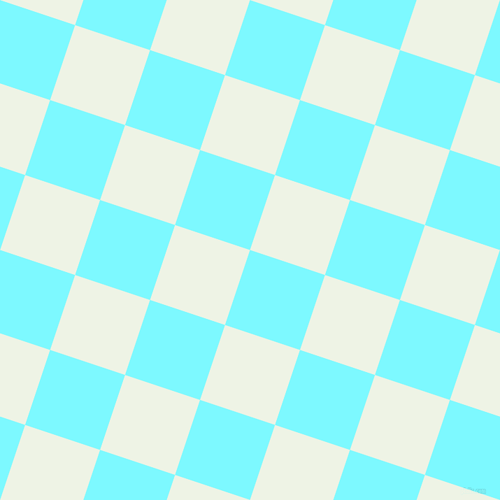 72/162 degree angle diagonal checkered chequered squares checker pattern checkers background, 113 pixel square size, Electric Blue and Saltpan checkers chequered checkered squares seamless tileable