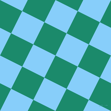 63/153 degree angle diagonal checkered chequered squares checker pattern checkers background, 103 pixel square size, , Elf Green and Light Sky Blue checkers chequered checkered squares seamless tileable