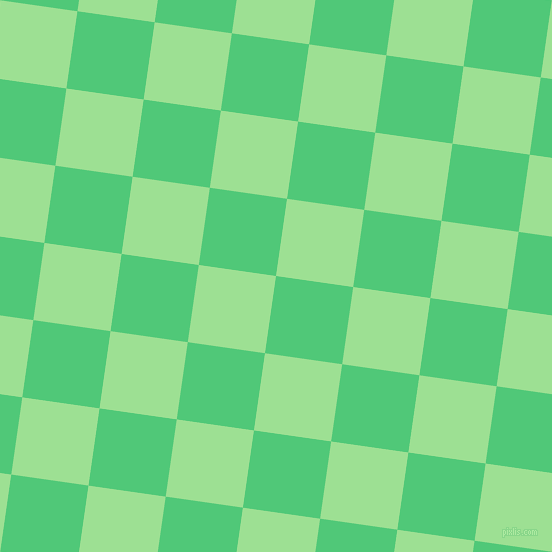 82/172 degree angle diagonal checkered chequered squares checker pattern checkers background, 78 pixel squares size, , Emerald and Granny Smith Apple checkers chequered checkered squares seamless tileable