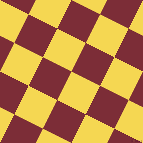 63/153 degree angle diagonal checkered chequered squares checker pattern checkers background, 112 pixel square size, , Energy Yellow and Paprika checkers chequered checkered squares seamless tileable