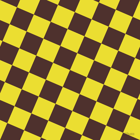 67/157 degree angle diagonal checkered chequered squares checker pattern checkers background, 61 pixel squares size, , Espresso and Golden Fizz checkers chequered checkered squares seamless tileable