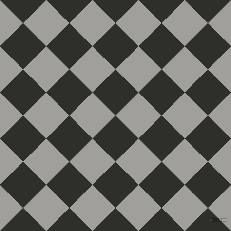 45/135 degree angle diagonal checkered chequered squares checker pattern checkers background, 67 pixel squares size, , Eternity and Mountain Mist checkers chequered checkered squares seamless tileable