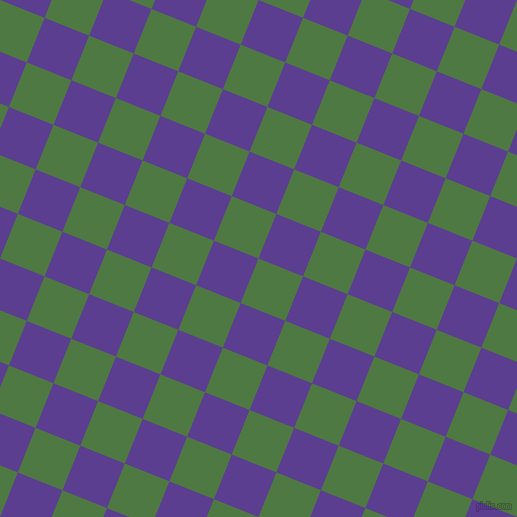 68/158 degree angle diagonal checkered chequered squares checker pattern checkers background, 48 pixel square size, , Fern Green and Daisy Bush checkers chequered checkered squares seamless tileable