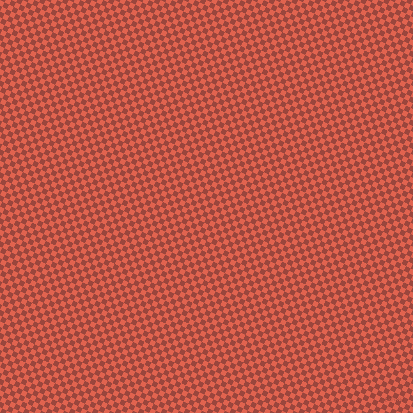 63/153 degree angle diagonal checkered chequered squares checker pattern checkers background, 10 pixel square size, , Flamingo and Cognac checkers chequered checkered squares seamless tileable