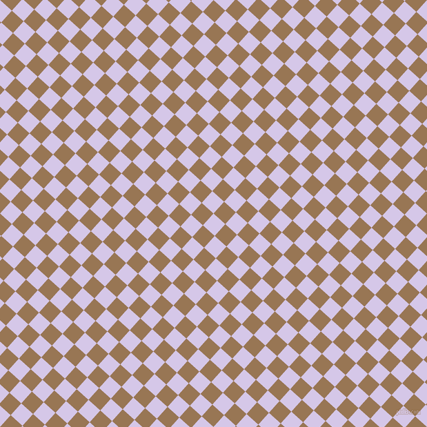 48/138 degree angle diagonal checkered chequered squares checker pattern checkers background, 23 pixel squares size, , Fog and Pale Brown checkers chequered checkered squares seamless tileable