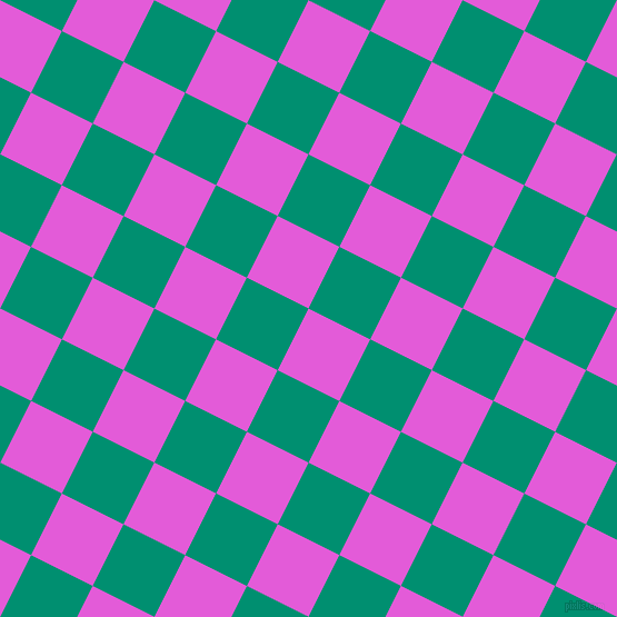 63/153 degree angle diagonal checkered chequered squares checker pattern checkers background, 62 pixel square size, , Free Speech Magenta and Observatory checkers chequered checkered squares seamless tileable
