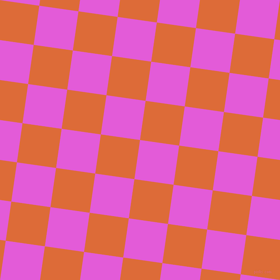 82/172 degree angle diagonal checkered chequered squares checker pattern checkers background, 78 pixel squares size, , Free Speech Magenta and Sorbus checkers chequered checkered squares seamless tileable