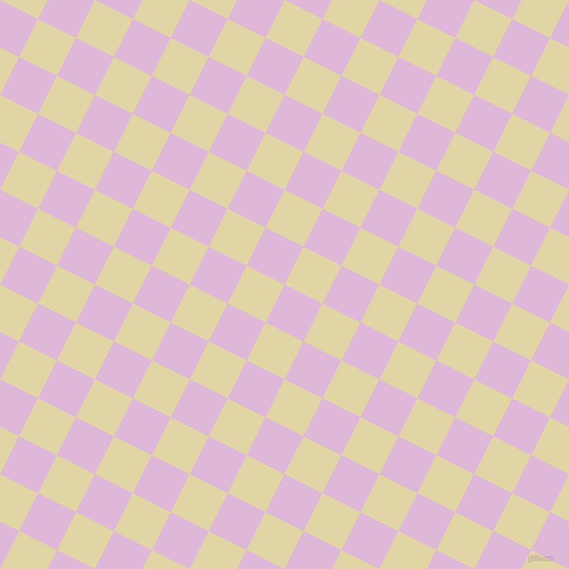 63/153 degree angle diagonal checkered chequered squares checker pattern checkers background, 60 pixel squares size, , French Lilac and Sapling checkers chequered checkered squares seamless tileable