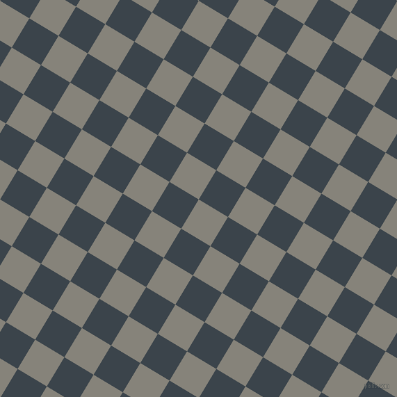 59/149 degree angle diagonal checkered chequered squares checker pattern checkers background, 49 pixel squares size, , Friar Grey and Arsenic checkers chequered checkered squares seamless tileable