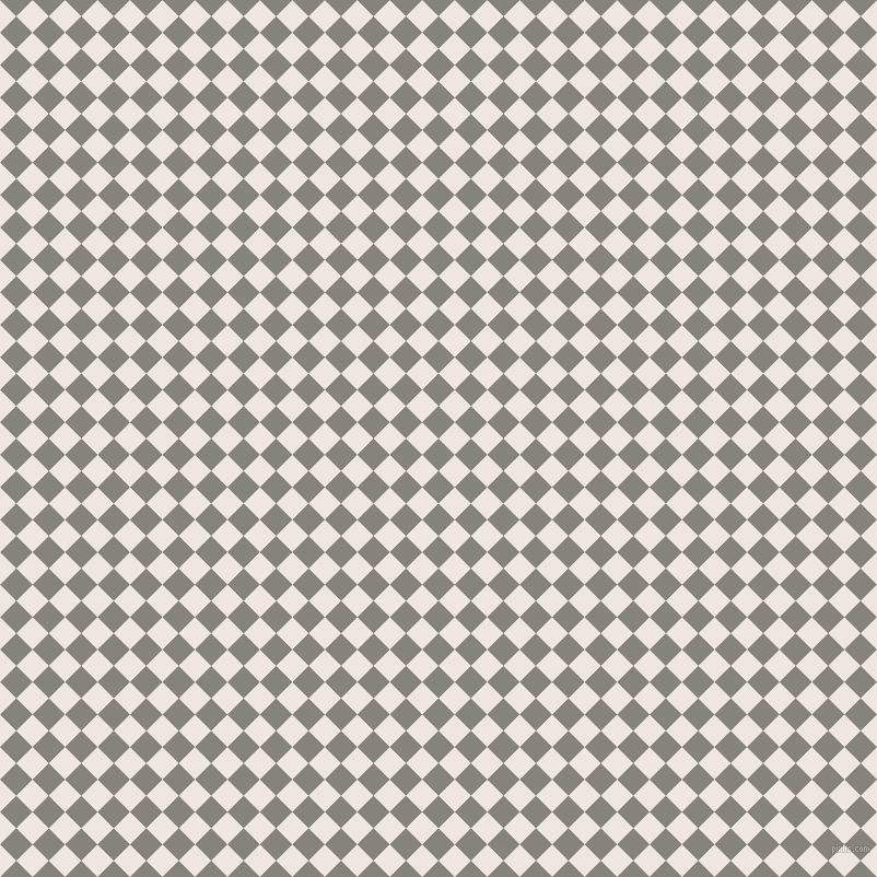 45/135 degree angle diagonal checkered chequered squares checker pattern checkers background, 21 pixel squares size, , Friar Grey and Desert Storm checkers chequered checkered squares seamless tileable