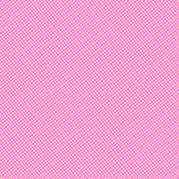 84/174 degree angle diagonal checkered chequered squares checker pattern checkers background, 6 pixel square size, , Fuchsia Pink and Peach checkers chequered checkered squares seamless tileable
