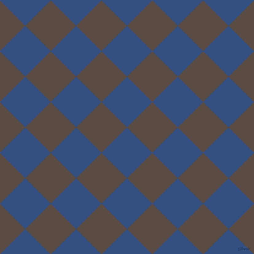 45/135 degree angle diagonal checkered chequered squares checker pattern checkers background, 117 pixel square size, , Fun Blue and Cork checkers chequered checkered squares seamless tileable