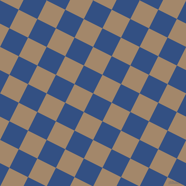 63/153 degree angle diagonal checkered chequered squares checker pattern checkers background, 68 pixel squares size, Fun Blue and Sandal checkers chequered checkered squares seamless tileable