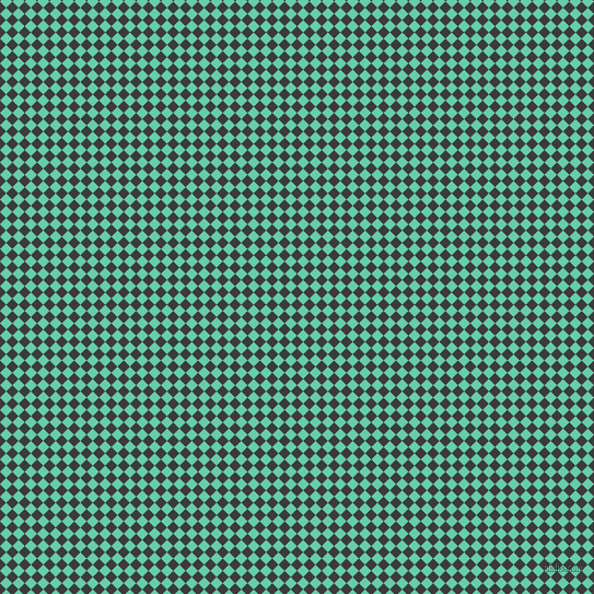 45/135 degree angle diagonal checkered chequered squares checker pattern checkers background, 8 pixel square size, , Fuscous Grey and Medium Aquamarine checkers chequered checkered squares seamless tileable