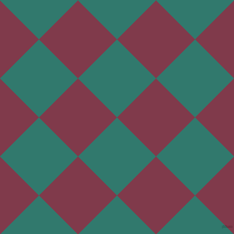 45/135 degree angle diagonal checkered chequered squares checker pattern checkers background, 187 pixel squares size, , Genoa and Camelot checkers chequered checkered squares seamless tileable