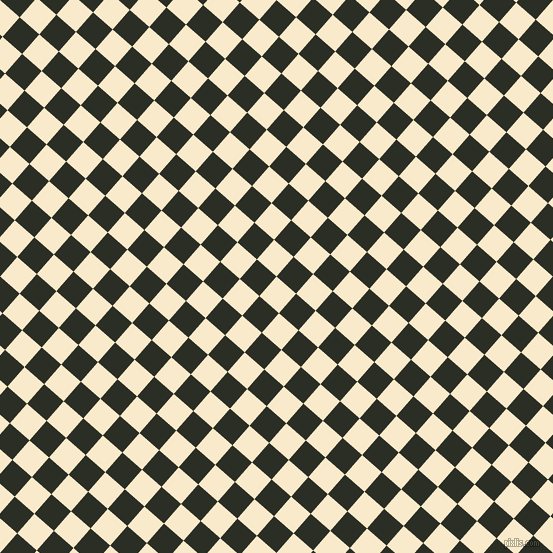 49/139 degree angle diagonal checkered chequered squares checker pattern checkers background, 26 pixel squares size, , Gin Fizz and Rangoon Green checkers chequered checkered squares seamless tileable