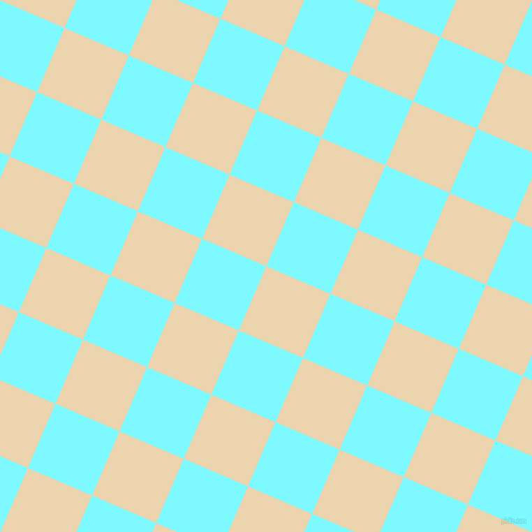 67/157 degree angle diagonal checkered chequered squares checker pattern checkers background, 100 pixel squares size, , Givry and Electric Blue checkers chequered checkered squares seamless tileable