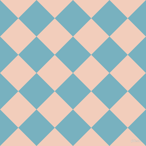 45/135 degree angle diagonal checkered chequered squares checker pattern checkers background, 91 pixel square size, , Glacier and Watusi checkers chequered checkered squares seamless tileable