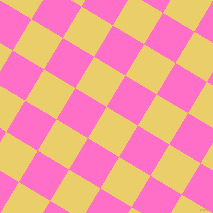 59/149 degree angle diagonal checkered chequered squares checker pattern checkers background, 128 pixel square size, , Golden Sand and Neon Pink checkers chequered checkered squares seamless tileable