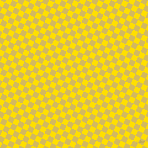 63/153 degree angle diagonal checkered chequered squares checker pattern checkers background, 18 pixel square size, , Golden Yellow and Tacha checkers chequered checkered squares seamless tileable