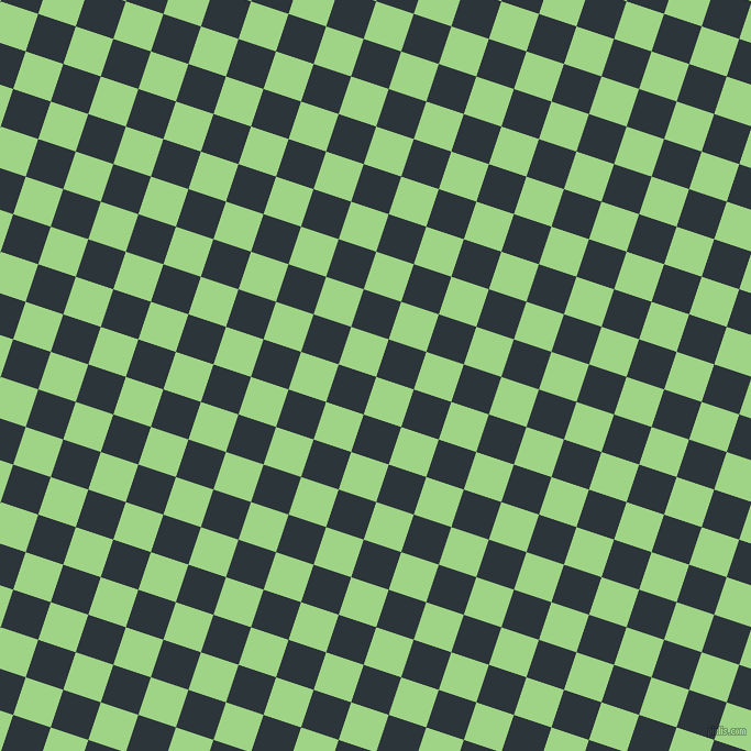 72/162 degree angle diagonal checkered chequered squares checker pattern checkers background, 36 pixel square size, , Gossip and Gunmetal checkers chequered checkered squares seamless tileable