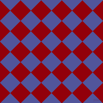 45/135 degree angle diagonal checkered chequered squares checker pattern checkers background, 60 pixel square size, , Governor Bay and Sangria checkers chequered checkered squares seamless tileable