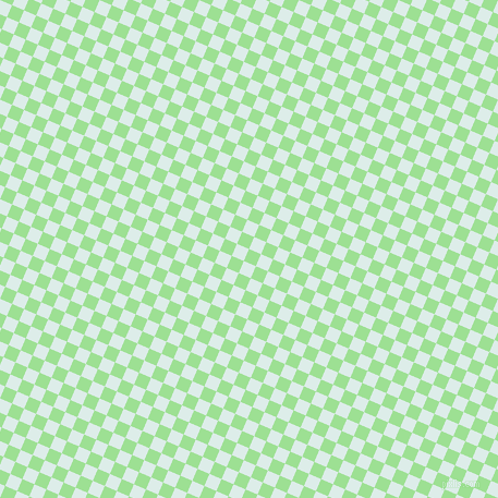 67/157 degree angle diagonal checkered chequered squares checker pattern checkers background, 12 pixel squares size, , Granny Smith Apple and Tranquil checkers chequered checkered squares seamless tileable