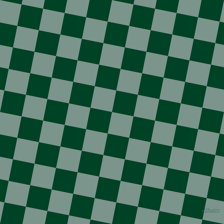 79/169 degree angle diagonal checkered chequered squares checker pattern checkers background, 44 pixel squares size, , Granny Smith and British Racing Green checkers chequered checkered squares seamless tileable