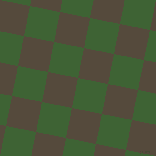 79/169 degree angle diagonal checkered chequered squares checker pattern checkers background, 98 pixel squares size, , Green House and Metallic Bronze checkers chequered checkered squares seamless tileable