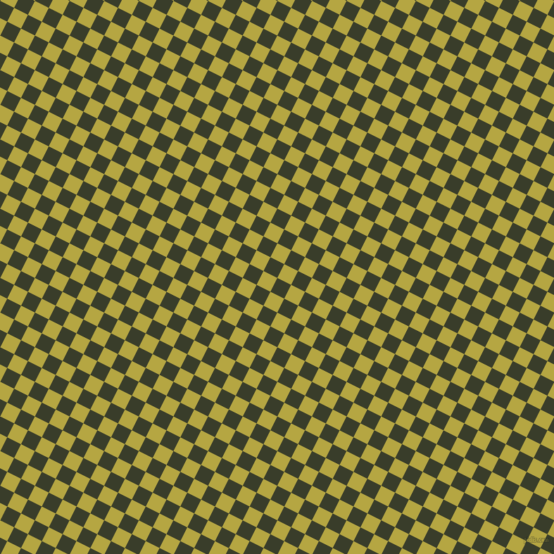 63/153 degree angle diagonal checkered chequered squares checker pattern checkers background, 22 pixel squares size, , Green Kelp and Brass checkers chequered checkered squares seamless tileable