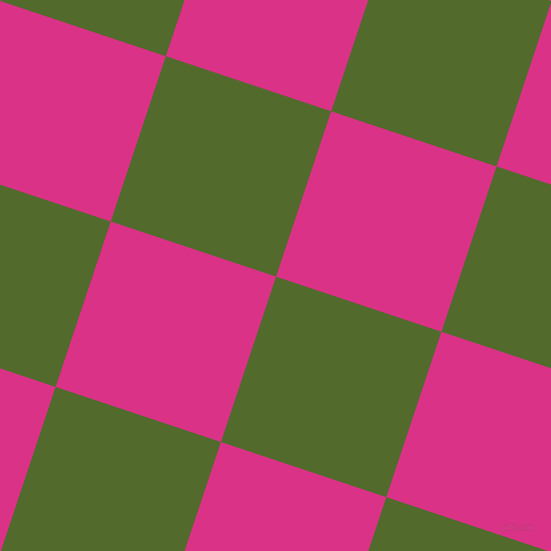 72/162 degree angle diagonal checkered chequered squares checker pattern checkers background, 192 pixel square size, , Green Leaf and Deep Cerise checkers chequered checkered squares seamless tileable