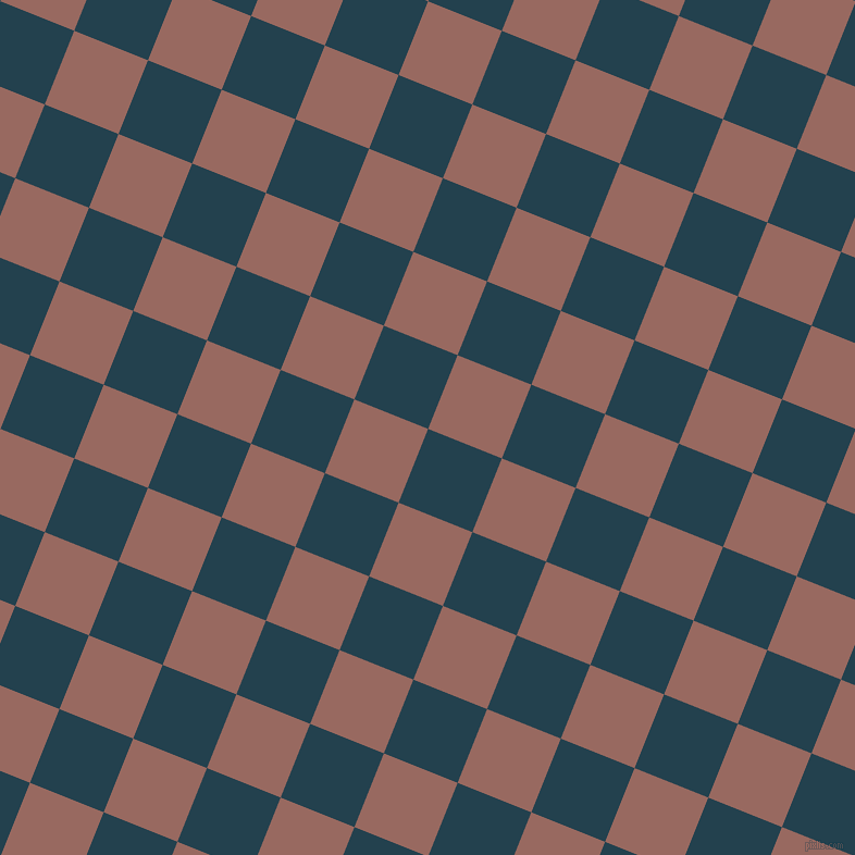 68/158 degree angle diagonal checkered chequered squares checker pattern checkers background, 73 pixel squares size, , Green Vogue and Dark Chestnut checkers chequered checkered squares seamless tileable