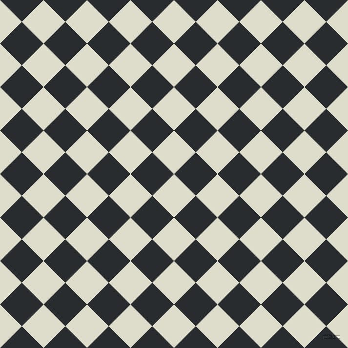 45/135 degree angle diagonal checkered chequered squares checker pattern checkers background, 63 pixel square size, , Green White and Bunker checkers chequered checkered squares seamless tileable