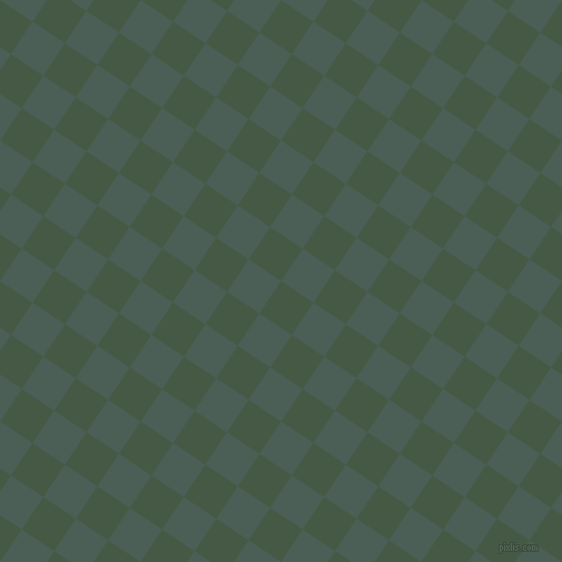 56/146 degree angle diagonal checkered chequered squares checker pattern checkers background, 35 pixel squares size, , Grey-Asparagus and Viridian Green checkers chequered checkered squares seamless tileable