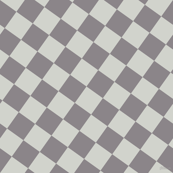 54/144 degree angle diagonal checkered chequered squares checker pattern checkers background, 64 pixel squares size, , Grey Nurse and Taupe Grey checkers chequered checkered squares seamless tileable