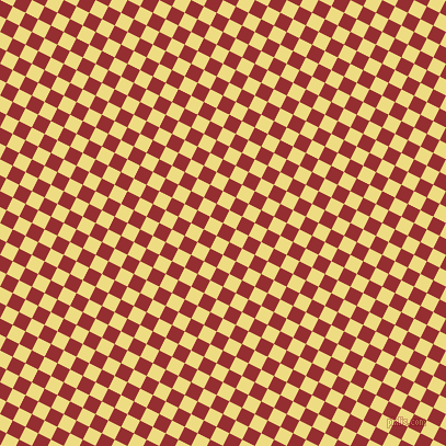 63/153 degree angle diagonal checkered chequered squares checker pattern checkers background, 13 pixel square size, , Guardsman Red and Flax checkers chequered checkered squares seamless tileable