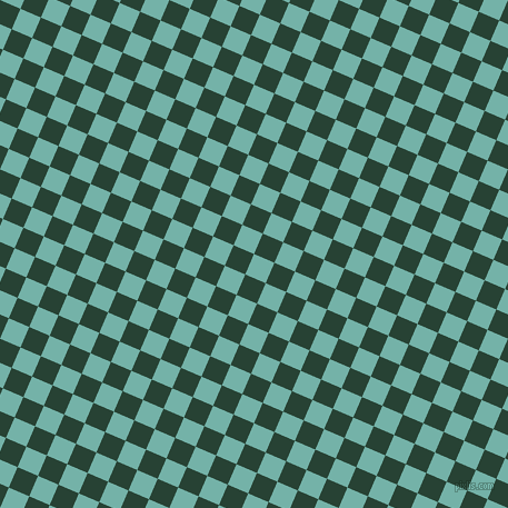 67/157 degree angle diagonal checkered chequered squares checker pattern checkers background, 20 pixel squares size, , Gulf Stream and English Holly checkers chequered checkered squares seamless tileable