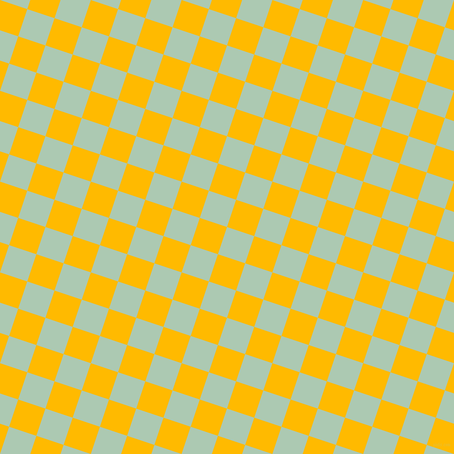72/162 degree angle diagonal checkered chequered squares checker pattern checkers background, 59 pixel squares size, , Gum Leaf and Selective Yellow checkers chequered checkered squares seamless tileable