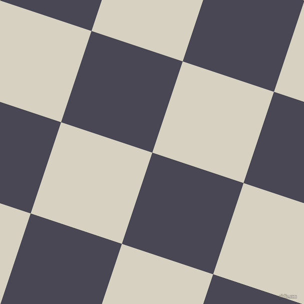 72/162 degree angle diagonal checkered chequered squares checker pattern checkers background, 192 pixel square size, , Gun Powder and Ecru White checkers chequered checkered squares seamless tileable