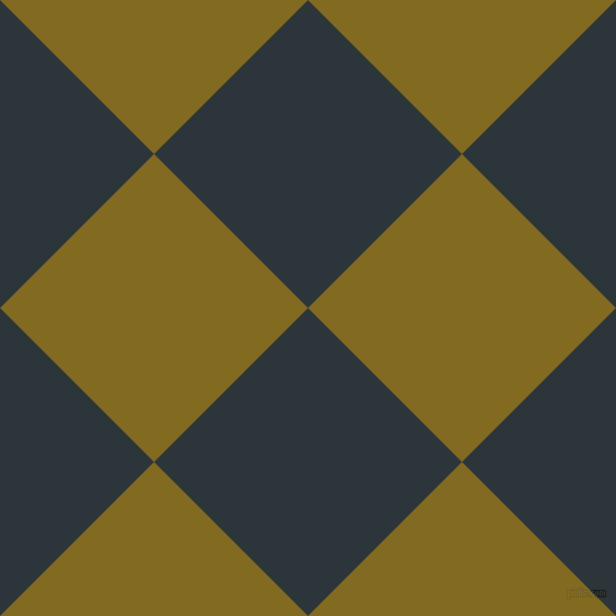 45/135 degree angle diagonal checkered chequered squares checker pattern checkers background, 199 pixel squares size, , Gunmetal and Yukon Gold checkers chequered checkered squares seamless tileable