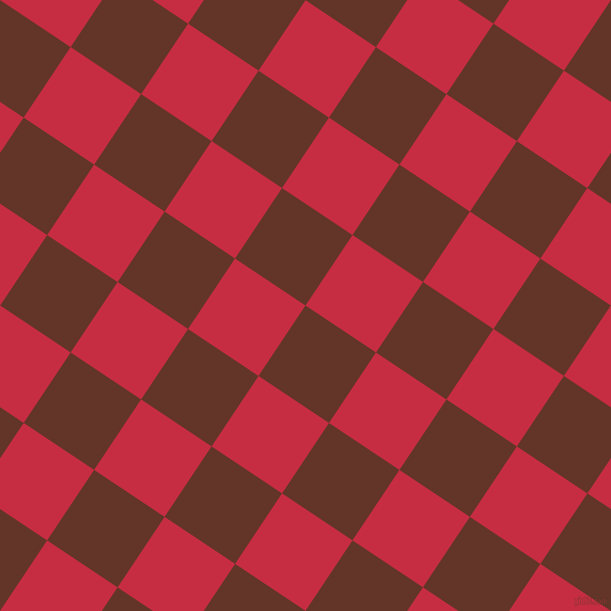 56/146 degree angle diagonal checkered chequered squares checker pattern checkers background, 93 pixel squares size, , Hairy Heath and Brick Red checkers chequered checkered squares seamless tileable