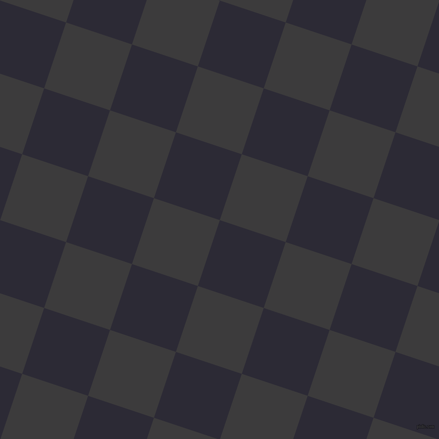 72/162 degree angle diagonal checkered chequered squares checker pattern checkers background, 140 pixel square size, , Haiti and Fuscous Grey checkers chequered checkered squares seamless tileable